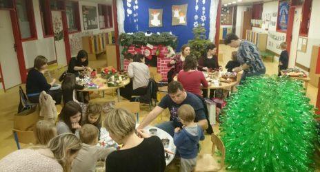 Predblagdansko raspoloženje u skupini Ježići