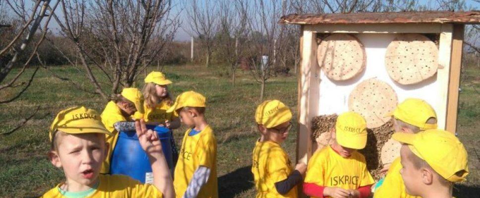 Iskrice i Ježići saznali gdje žive pčele.