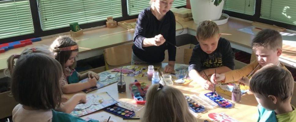 """Montessori skupina """"Perlice"""" provela je projekt """" Moje tijelo, moja mala tvornica"""""""
