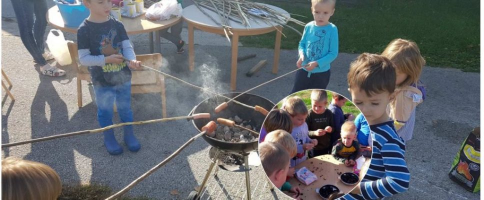 Kestenjada i roštiljanje u Dječjem vrtiću Pčelice